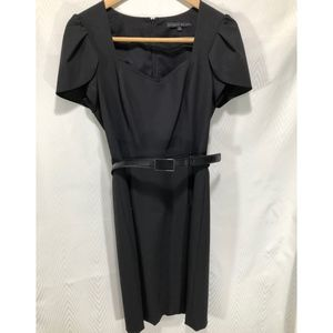 Antonio Melani Black Belted Dress.  Size 4.